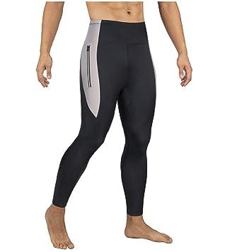 Amazon.com: Pantalones de sauna para hombre para adelgazar y ...