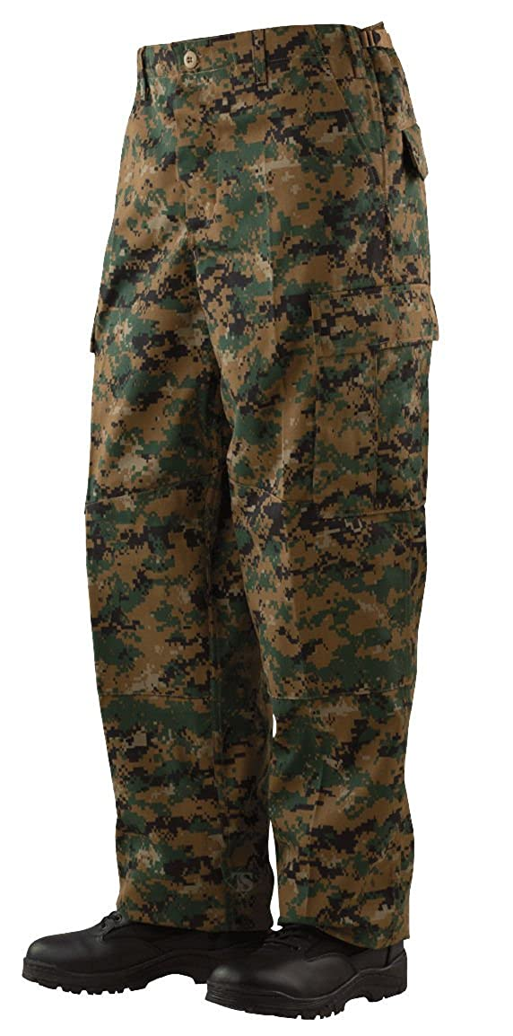 Tru-Spec BDU Pants with Cell Phone Pocket - Woodland Digital