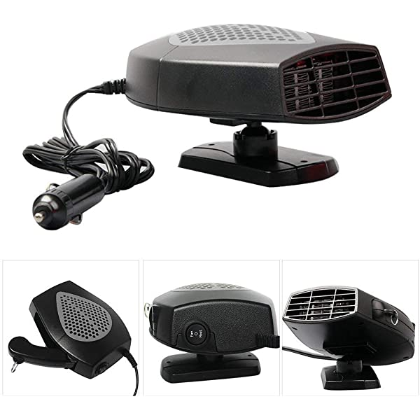 MASO - Calefactor portátil para coche (12 V, 150 W, alta potencia ...