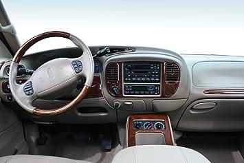amazon com lincoln navigator interior burl wood dash trim kit set