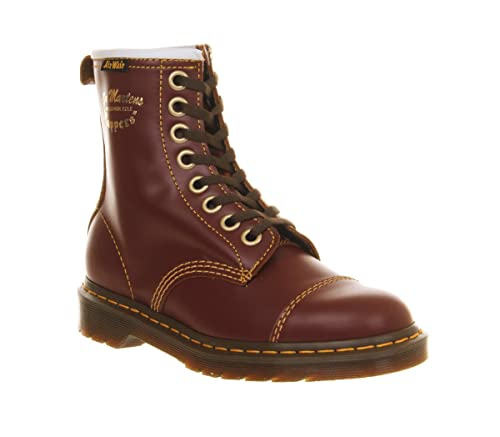 7367ca9c6 Dr. Martens Capper Boot Oxblood Vintage Leather - 3 UK: Amazon.co.uk: Shoes  & Bags