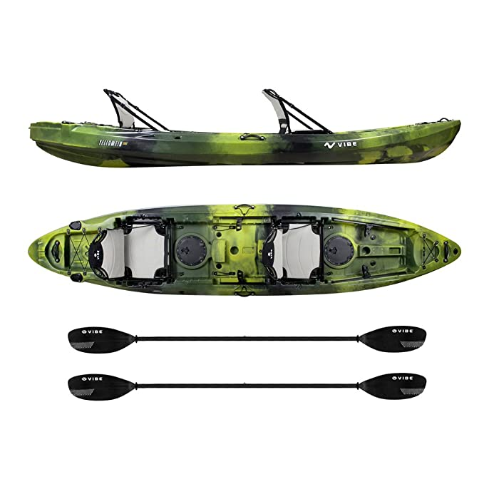Best Tandem Kayak : Vibe Kayaks Yellowfin 130T