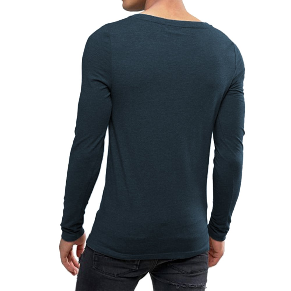 541a7d2f Amazon.com: OA ONRUSH AESTHETICS Men's Extreme Muscle Fit Long Sleeve T- Shirt with Boat Neck: Clothing