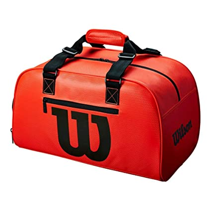 Wilson duffel small infrared Sports bag Neon Red - Black  Amazon.co.uk   Sports   Outdoors a60ed72a17890