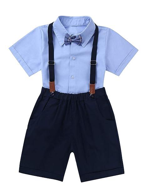 Amazon.com: feeshow bebé Boys algodón Pelele chaleco con ...