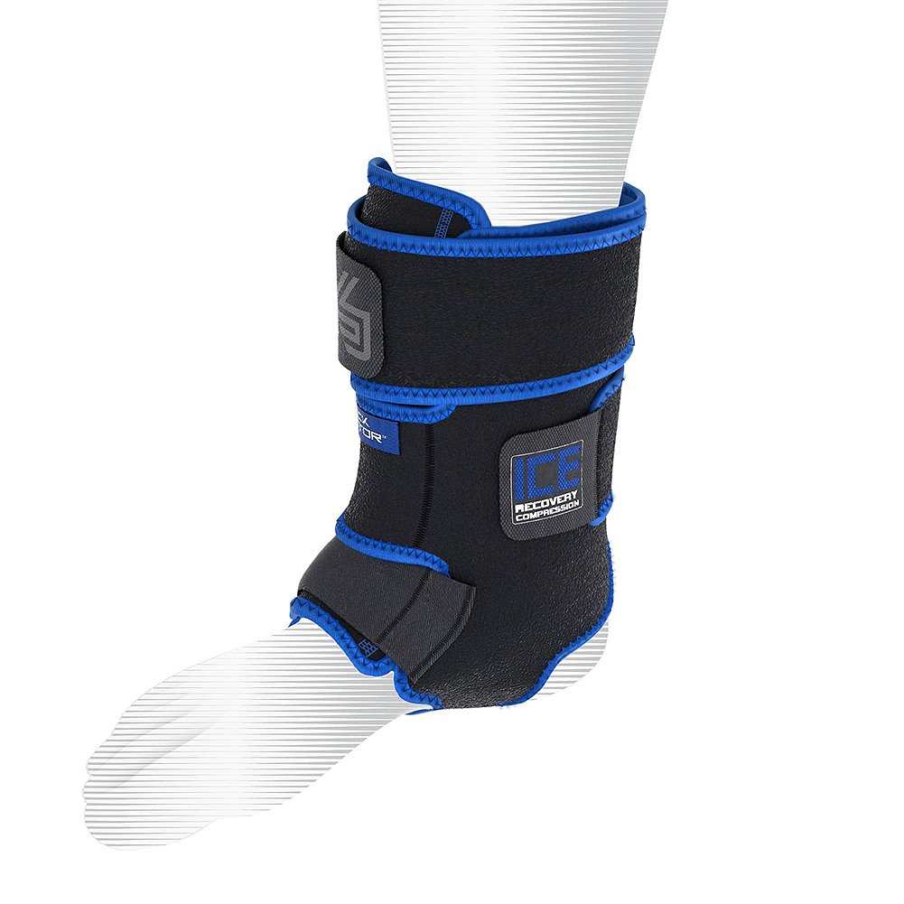 Shock Doctor Performance Sports ICE Recovery Ankle Compression Cold Therapy Ice Wrap