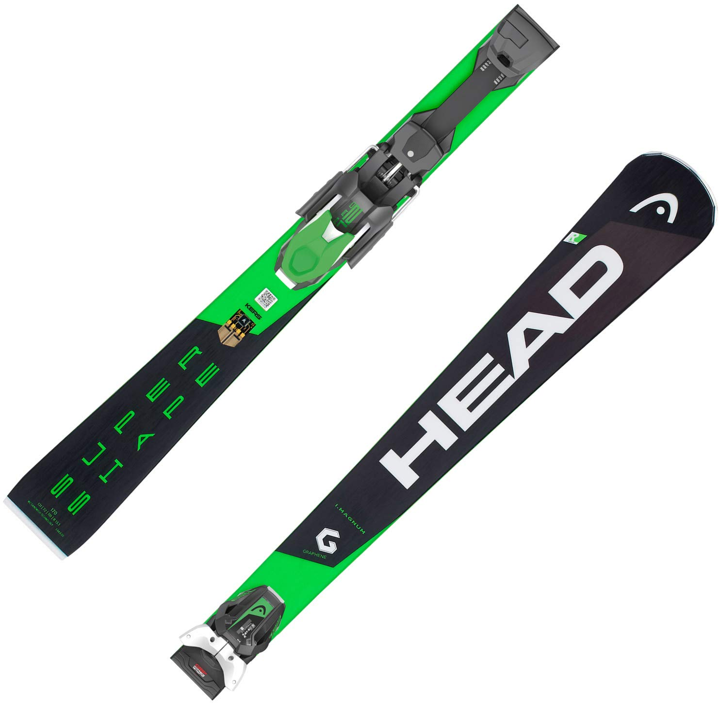 HEAD Herren Skier Supershape i.Magnum SW + Bindung PRD 12 GW