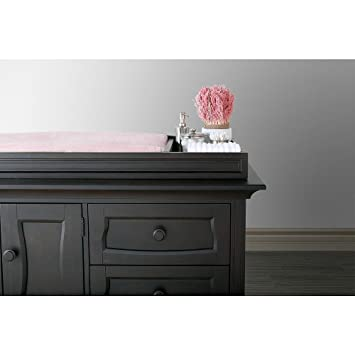 eco chic furniture recycled materials eco chic baby dorchester changing topper in slate finish amazoncom