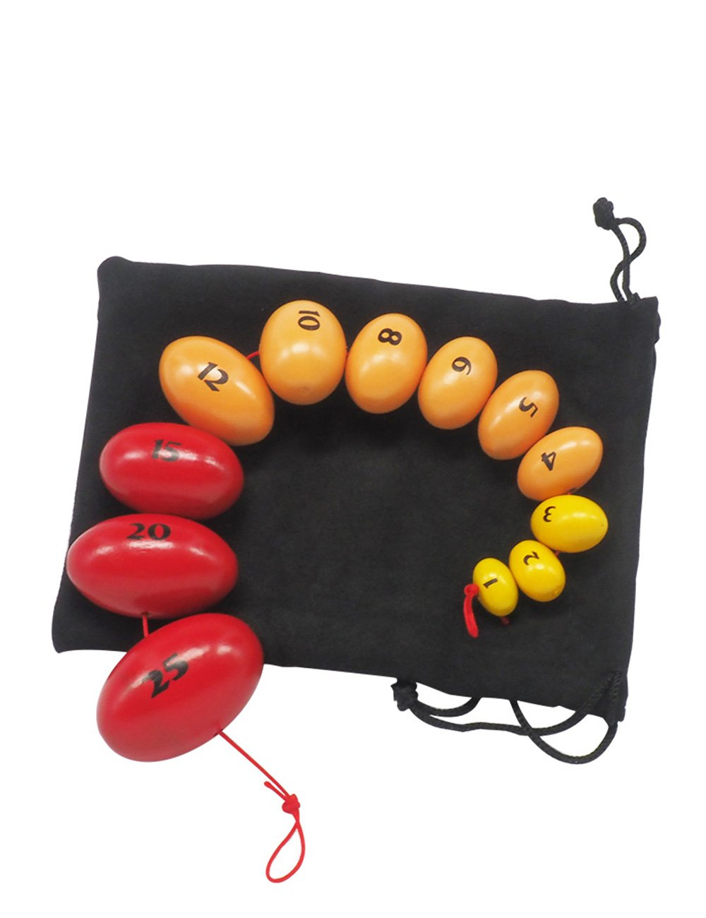 Wooden Prader Orchidometer, Prader Balls, Endocrine Rosary for Measuring Testis Scale in Clinic/Hospital, Best Gift for Endocrinologist and Pediatrician (A) by Mediarchitect