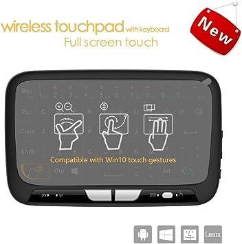 Mini teclado inalámbrico 2,4 G XBMC Kodi teclado Touchpad Ratón Combo- Multimedia portátil Handheld Android
