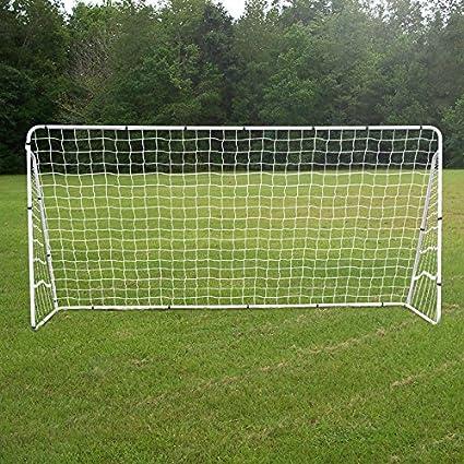 3a6e329fa Amazon.com : ZENY 12 X 6 FT Portable Soccer Goal, Football Goal Steel Post  Netting Sports Training Net Kids Soccer Goals for Backyard, All Weather :  Sports ...