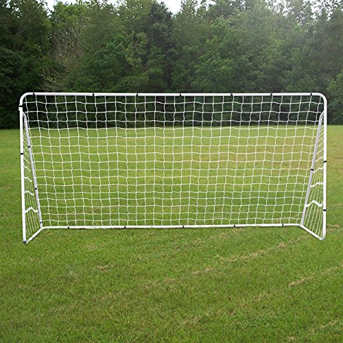 ZENY 12 X 6 FT Portable Soccer Goal Football Goal Steel Post Netting, Sports Training Net by ZENY
