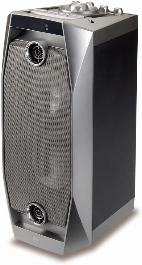 Conceptronic CSPKBTBASSDISCOG 50 W Negro, Gris - Altavoces portátiles (50 W, 100-20000 Hz, 125 dB, 1%, Inalámbrico y alámbrico, Negro, Gris)