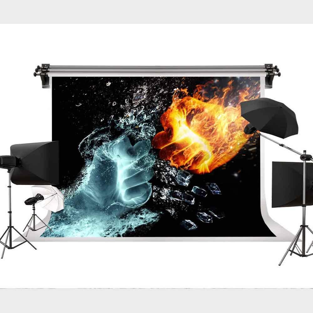 写真撮影用背景幕 氷と炎の歌 壁装飾 パーティー写真 9x6フィート STS GEST373   B07L4BBMPN