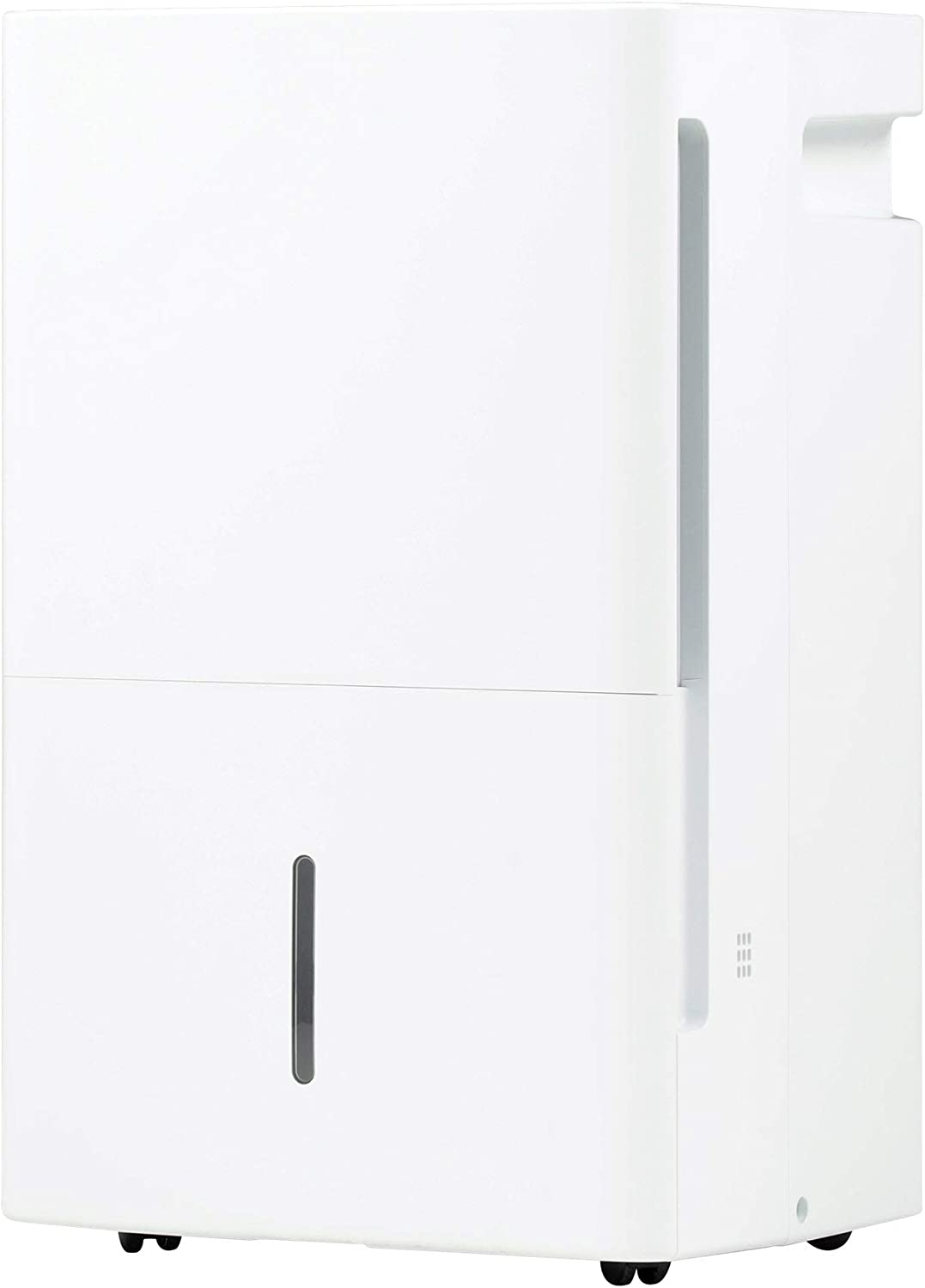 White GE ADEL35LZ-GE 35 Pint Energy Star Dehumidifier with Digital Controls for Very Damp Rooms