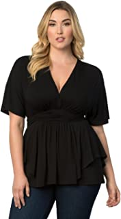 product image for Kiyonna Women's Plus Size Promenade Top