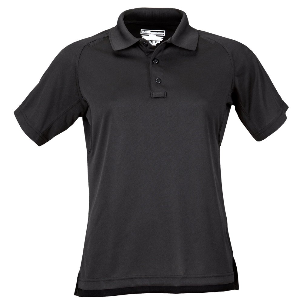 5.11 Women's Performance Polo Short Sleeve Tactical Shirt, Style 61166, Black, XL