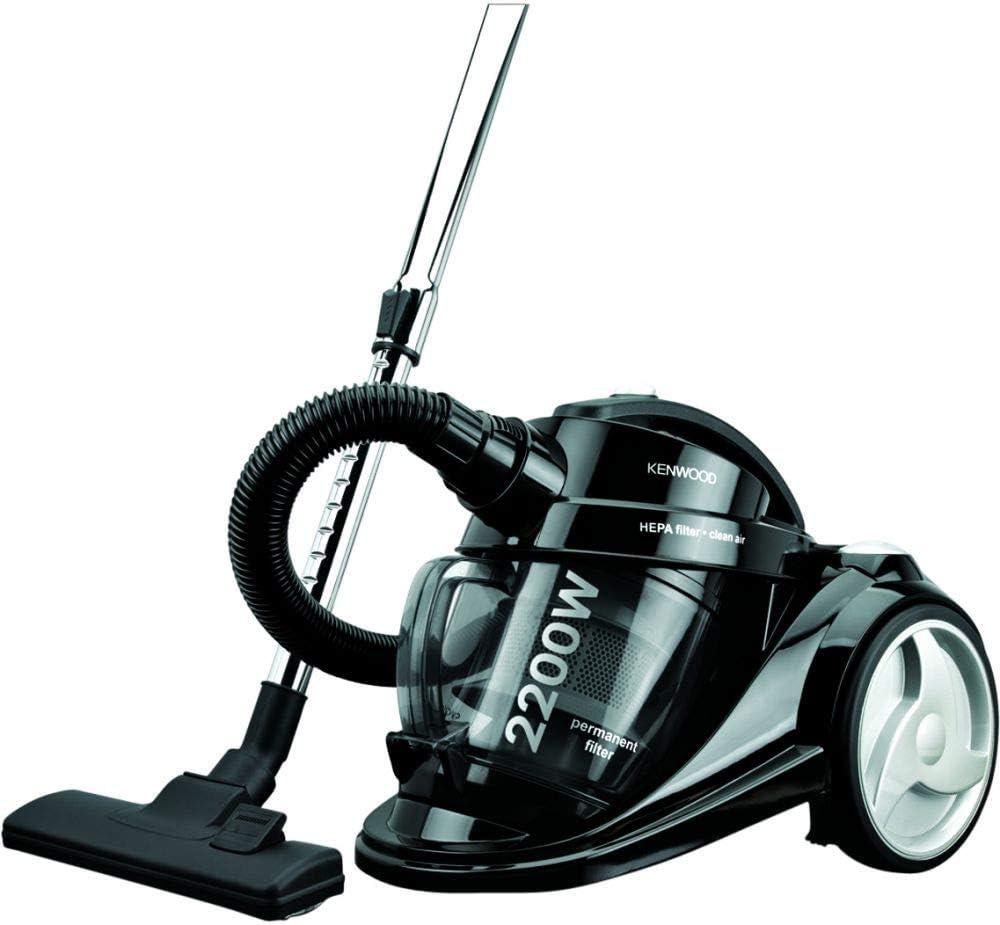 Kenwood Vacuum Cleaner, 2200W, 2.5L, Bagless, Black - OWVC705001