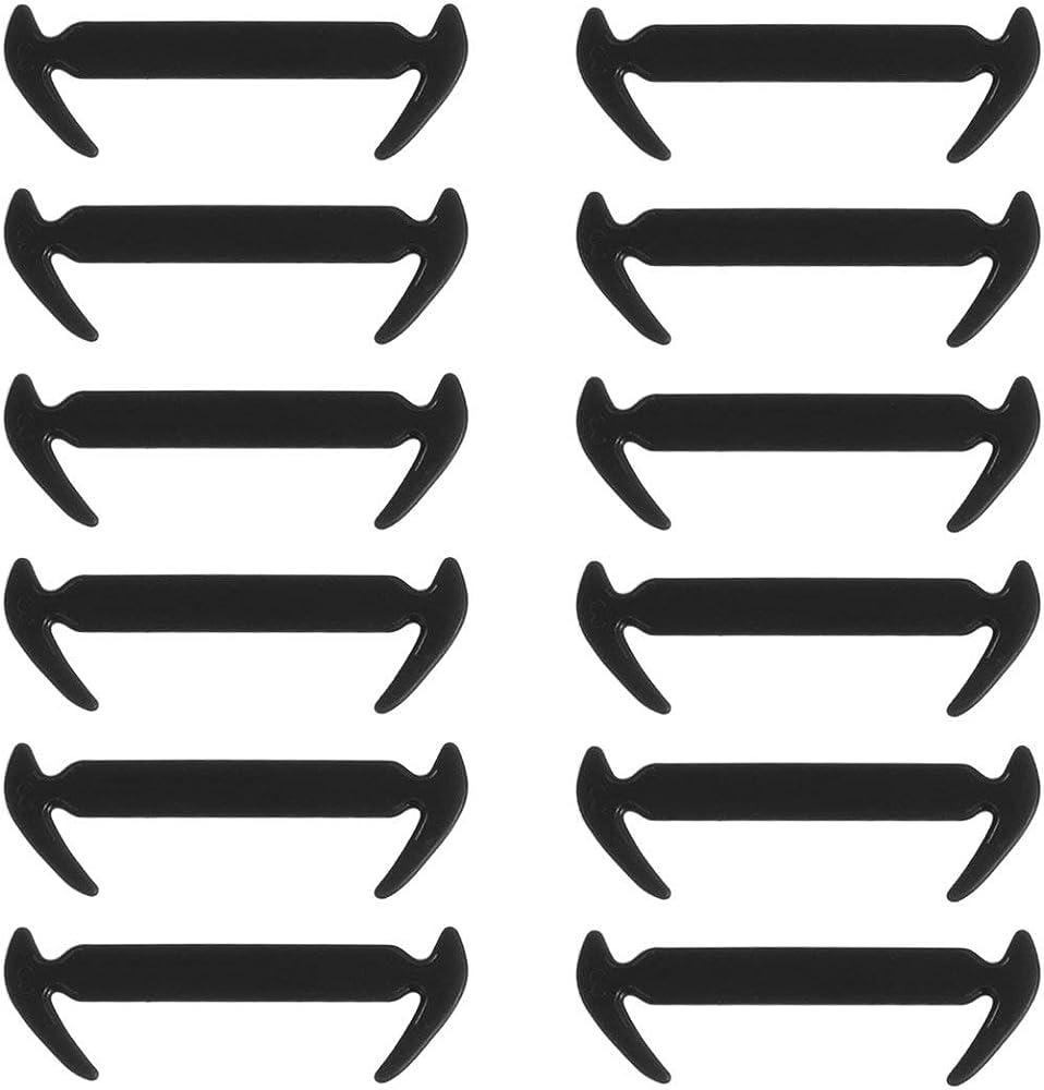 BIYI 12 piezas/paquete Único en forma de hoz elástico sin corbata ...