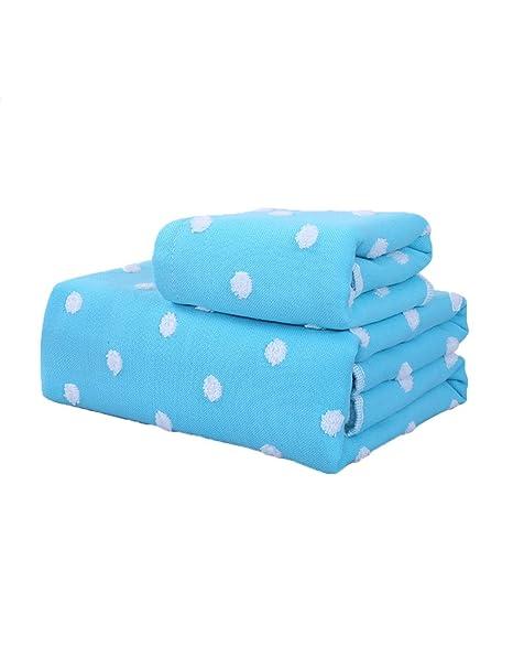Toalla suave grande absorbente del algodón de las toallas 34 * 76cm + 140 * 70cm