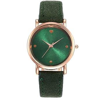 Zedo Relojes Mujer Reloj Pulsera Mujer Relojes de Mujer Reloj señora Reloj de Mujer Reloj Mujer Reloj Chica Reloj de Pulsera Cinturón Helado Superficie del ...