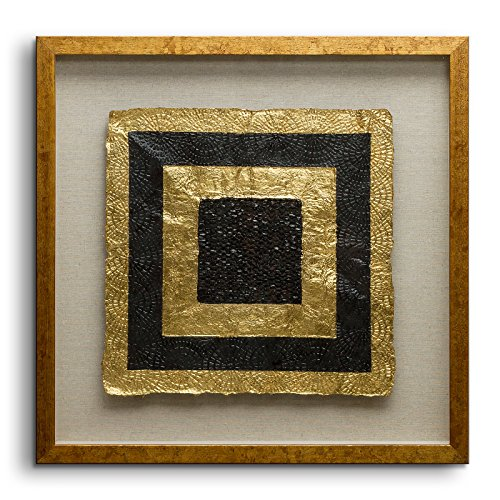 Fredrik Lorenz Original Riva: Golden Shapes Luxury Wall Decor