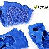 Hylaea Yoga Socks for Women with Grip & Non Slip