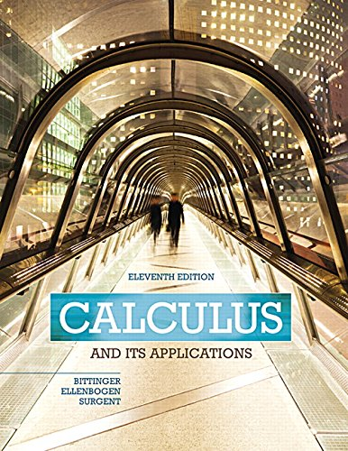 321979397 - Calculus and Its Applications (11th Edition)