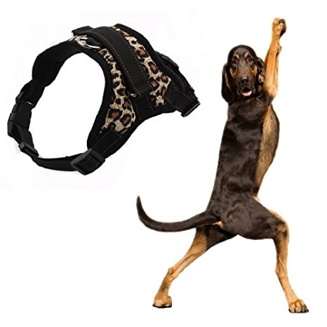 Homesupplier - Arnés para perro chaleco con asa, tejido ...