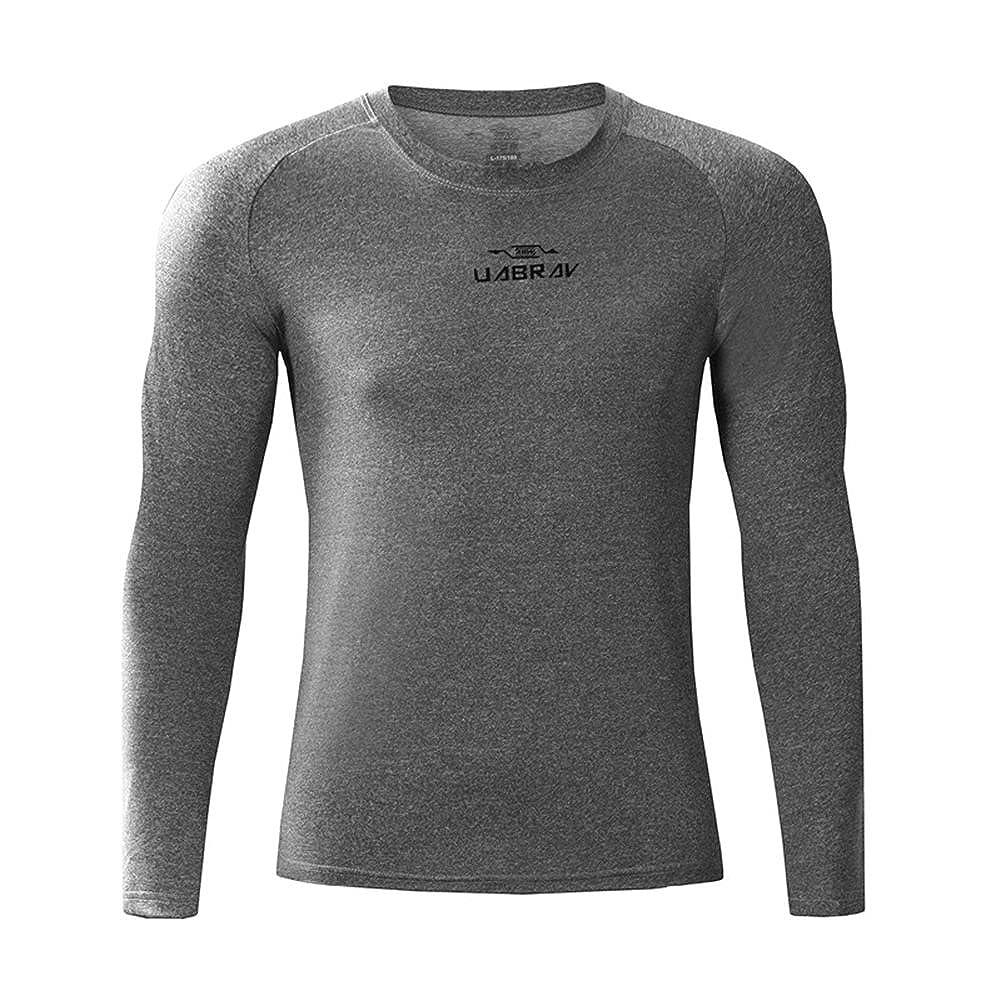 Camiseta de Compresión de Manga Larga Térmica Secado Rápido para Deportivos Running Fitness Hombre: Amazon.es: Ropa y accesorios