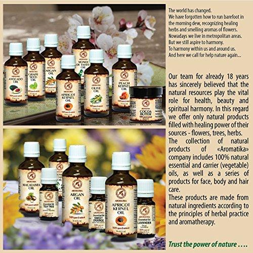 Aceite de Castor 50ml - Ricino - Ricinus Communis - India - 100% Puro y Natural - Botella de Vidrio - Cuidado Intensivo para el Rostro - para Cuerpo ...