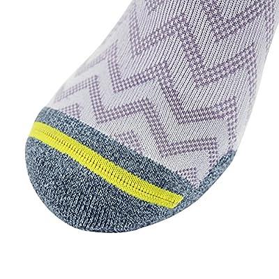 Running Bamboo Fiber Socks, Gmark Unisex Ultimate Dry Cushioned Low Cut Socks 1,3,5 Pairs