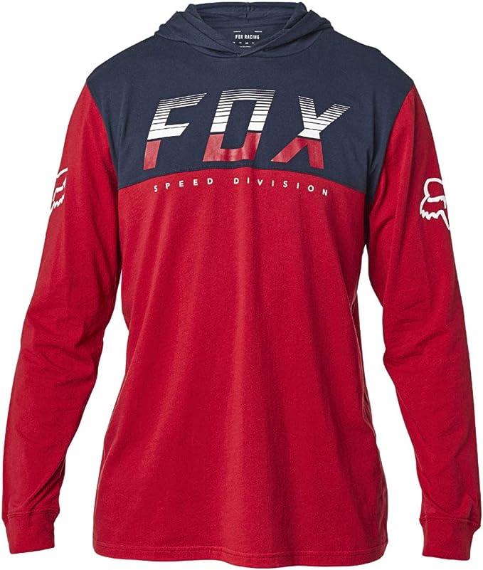 Fox Racing - Camiseta de manga corta para hombre - Rojo - Large: Amazon.es: Ropa y accesorios