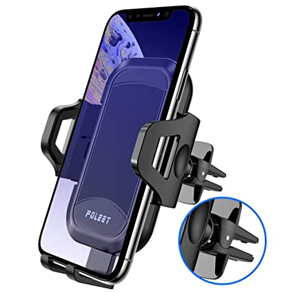 1PC Air Vent Car Holder Mount for Smart Phones iPhone 7 7 Plus Samsung LG Black