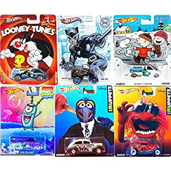 4b61e74c9 Peanuts Hot Wheels Pop Culture Mix SpongeBob Squarepants Dairy Delivery  Snoopy Charlie Brown Christmas Astro Chevy Van Catwoman Cool One Tweet Looney  Tunes ...
