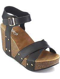 Women's Platform Wedge Sandals | Amazon.com