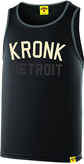 af40efc5cd064e Kronk Detroit Two Colour Iconic Training Gym Vest  Amazon.co.uk ...