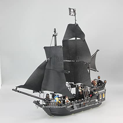 Pirates Of The Caribbean The Black Pearl Ship Blocks Bricks