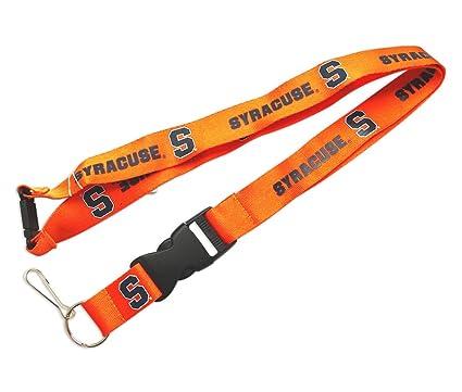 Amazon.com   aminco NCAA Syracuse Orangemen Clip Lanyard Keychain Id ... 267cbb06f