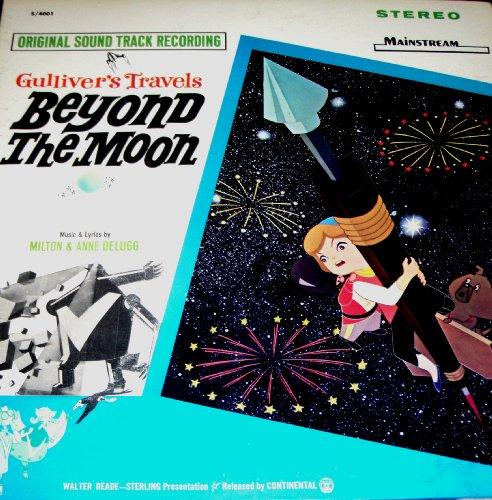 GULLIVER'S TRAVELS BEYOND THE MOON (ORIGINAL SOUNDTRACK LP, 1966)