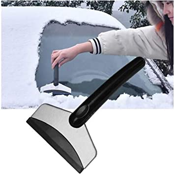 Snow Remover Ice Scraper Car Windshield Frost Remover Scrapper Squeegees