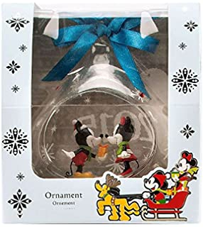 ba72d7015bbf Disney s Mickey and Minnie Mouse Glass Drop Sketchbook Ornament -- 2015  Edition