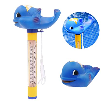 RinoDirect Cartoon Style Floating Water Thermometer Swimming Pool Floating  Thermometer for Outdoor & Indoor Swimming Pools, Spas, Hot Tubs, Jacuzzis &  ...