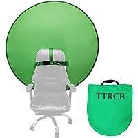 Green Background Screen Portable 4.65ft for Photo Video Studio, Chroma Key Green, Portable Foldable Green Screen…