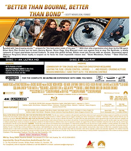 Amazon in: Buy Mission: Impossible 5: Rogue Nation