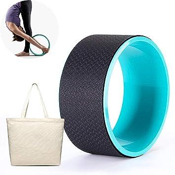 CWDXD Rueda Yoga para Rueda de Yoga con Manual de ...