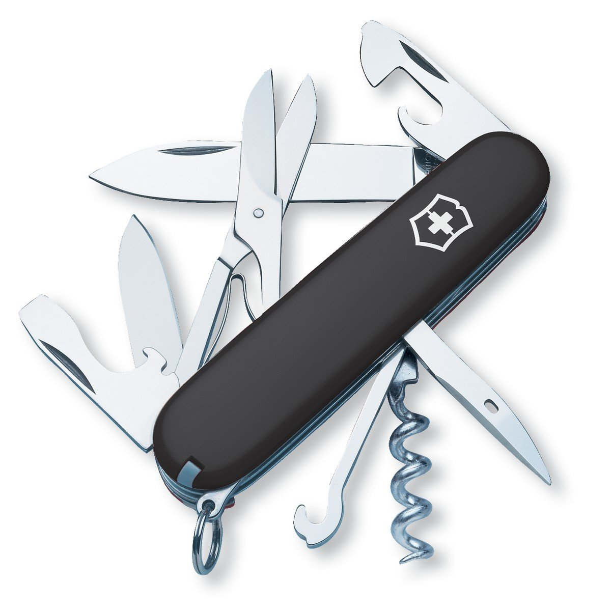 Victorinox Swiss Army Climber Pocket Knife Black One Need A Wiring Diagram Mustang Evolution Size Folding Camping Knives Sports Outdoors