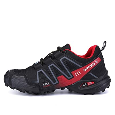 Lutos Men's Hiking Shoes Outdoor Lace up Breathable Casual Shoes | Shoes