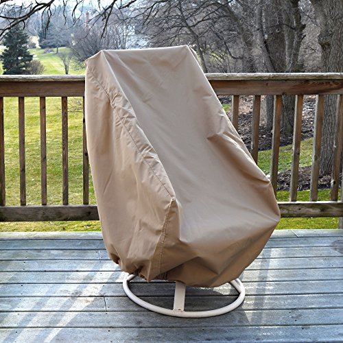 Island Umbrella NU5622 All-Weather Protective Cover for High Back Chair (Cover Protective Umbrella)
