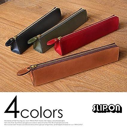 (SLIP-ON)スリップオン Rioファスナーペンケース ロング カラー Rio ブラック